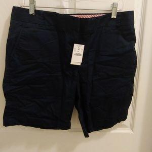 J.Crew Chico shorts size 10